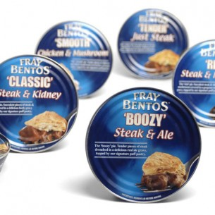 Fray Bentos packaging redesign