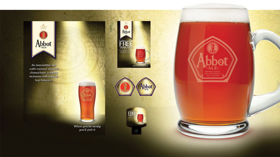 Brewer and pub owner Greene King chose TAG for their new branding and marketing materials.