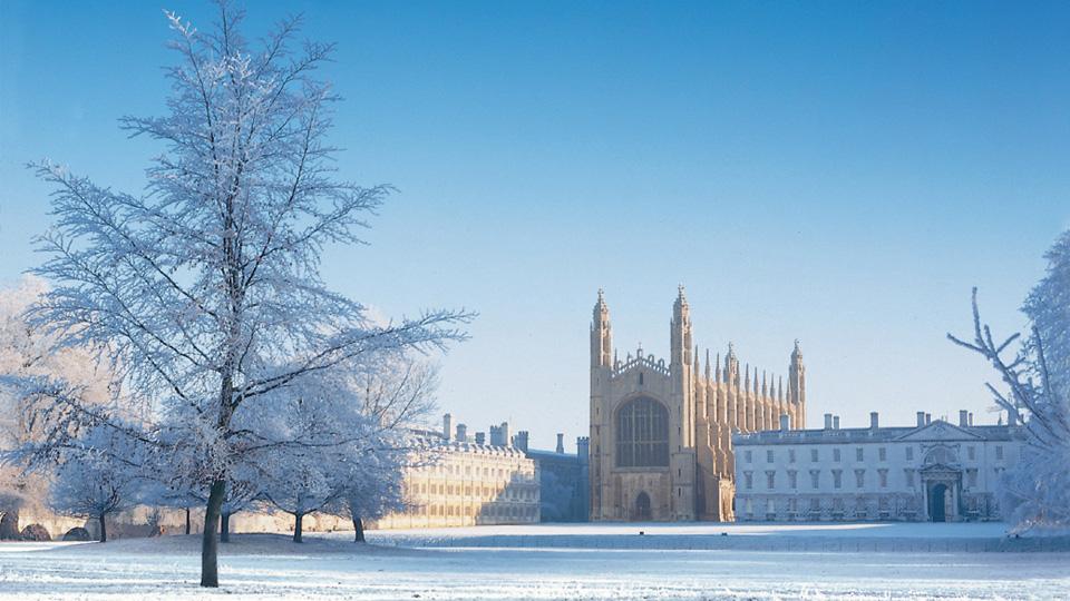 Kings College Cambridge postcard images