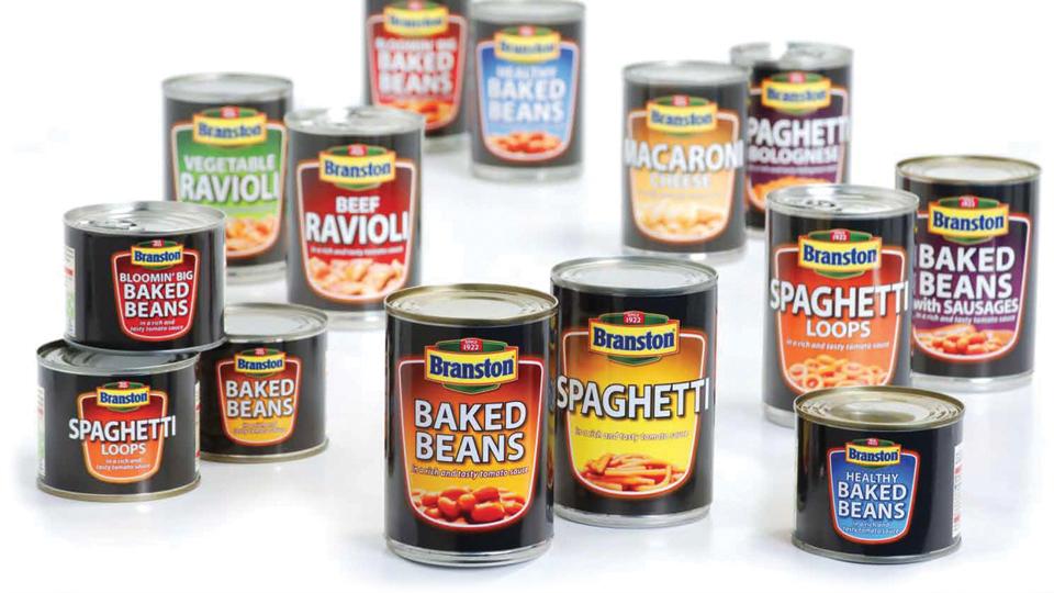 Branston product graphic design